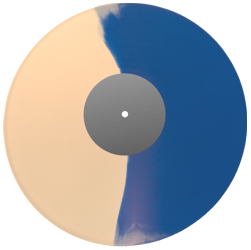 10_ colored record