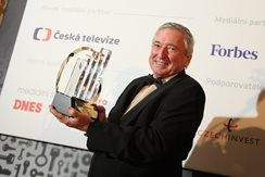 2016 -  Zdenek Pelc, Entrepreneur Of The Year 2015 Czech Republic