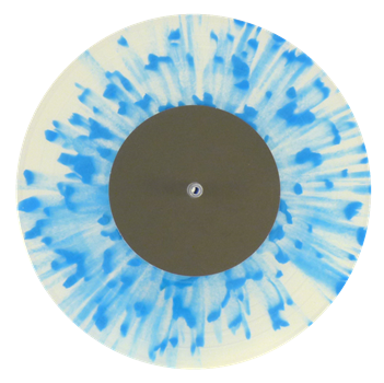 13 Transparent 14 + splatters blue 5