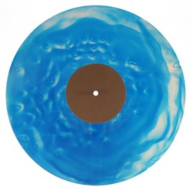 07 Vinyl special - transparemt blue 13 + transparent white 14 + transparent splatters