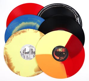 06 Mix colored records